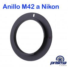 Anillo Adaptador de Montura M42 a Nikon