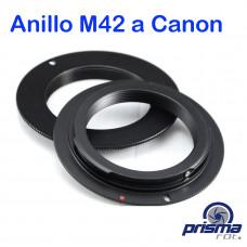Anillo Adaptador de Montura M42 a Canon