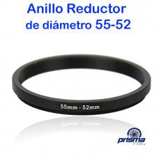Anillo Reductor de diámetro de 55 a 52 mm
