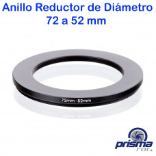 Anillo Reductor de diámetro de 72 a 52 mm
