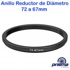 Anillo Reductor de diámetro de 72 a 67 mm