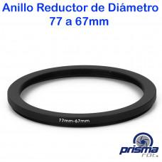 Anillo Reductor de diámetro de 77 a 67 mm