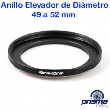 Anillo Elevador de diámetro de 49 a 52 mm