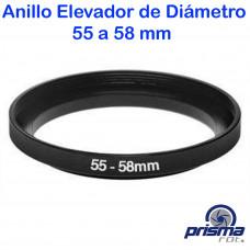 Anillo Elevador de diámetro de 55 a 58 mm