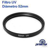 Filtro UV de 52 mm