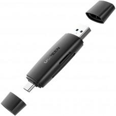 Lector de Memoria SD / Micro SD USB 3.0 Tipo C