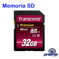 Memoria SD 32 Gigas: UHS-1 / Clase 10 Lectura hasta 90 MB/s
