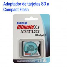 Adaptador de Memoria SD a Compact Flash