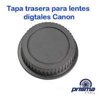 Tapa trasera genérica para lentes Canon