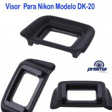 Visor para cámaras Canon Nikon Modelo: DK-20